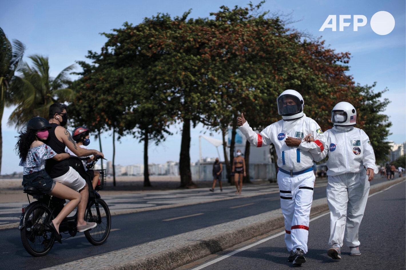 AFP 13 | Mauro PIMENTEL 12 juillet 2020 – Rio de Janeiro (Brésil)