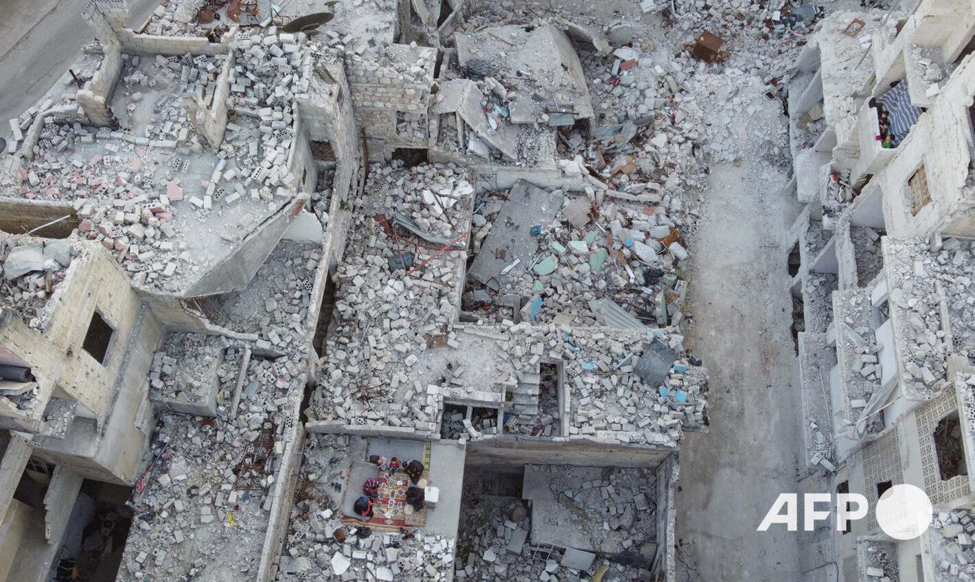 AFP 16 | Aaref WATAD 4 mai 2020 – Ariha (Syrie)